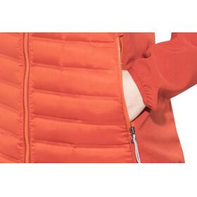 Columbia Flash Forward Hybrid Jacket Women Sail Red/Hot Pepper